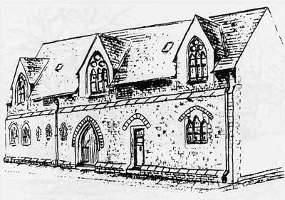 Former boys school, now School Court