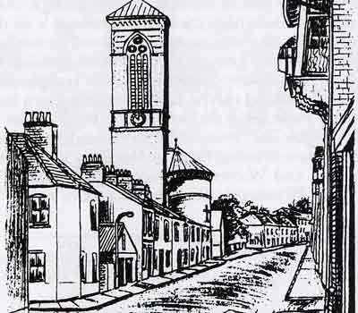 Canal Street with St Barnabas