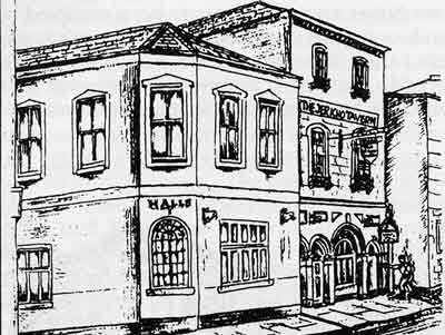 The Jericho Tavern from whcih this district may have derived its name
