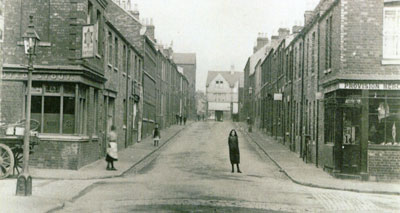Cranham Street vista in an earlier age, around 1910.  Photo: Penny & Sinclair.