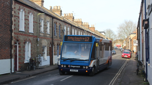 No 17 will run from the Railway station to Summertown shops