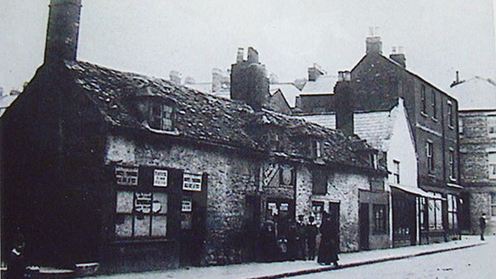 "<p>Corner of Walton St and Little Clarendon Street, 1869.&nbsp; <a href =""http://www.jerichocentre.org.uk/about_jericho/historic_images"">See other historic images.</a></p>"
